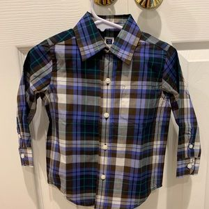 Janie and jack toddler button down